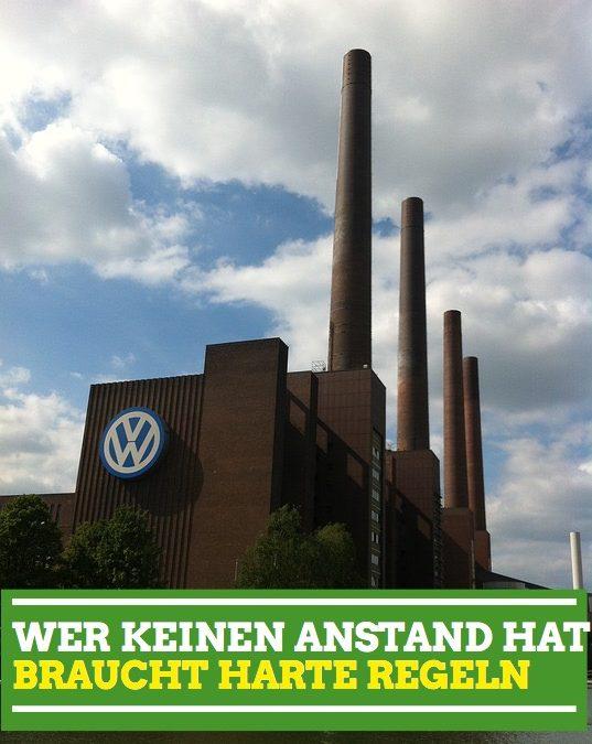 VW-Boni: Wer keinen Anstand hat, braucht harte Regeln
