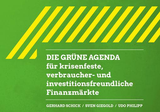 Konzeptpapier: Die Grüne Finanzwende für nachhaltige und krisenfeste Finanzmärkte