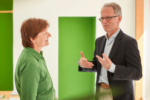 Rosi Steinberger MDL im Gespräch mit Udo Philipp