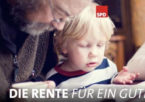 Das Rentenkonzept der SPD – hehre Versprechen