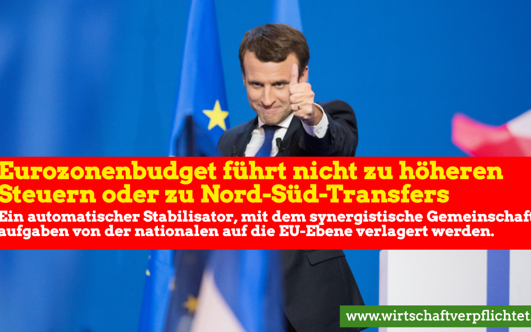 Eurozonenbudget führt nicht in Transferunion
