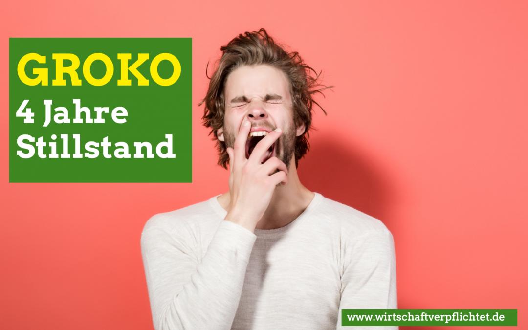 GroKo-Sondierung – aus Berlin nichts neues