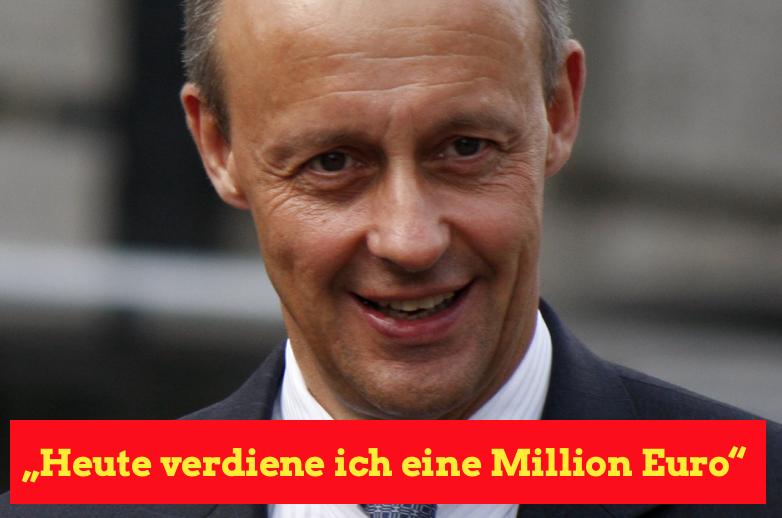 Verdient Friedrich Merz Millionen Euro im Jahr?